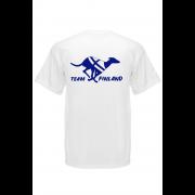 White Team Finland logolla